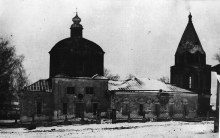 Храм в честь иконы Божьей Матери Владимирской в Старом Бурце