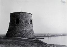 Одна из башен Чертова городища