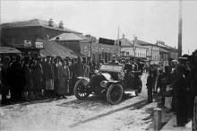 Первый автомобиль в Елабуге