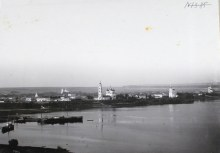 Вид на город со стороны реки Камы