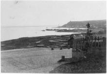 Вид на Каму и Чертово городище