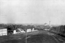 Вид с колокольни Троицкой церкви