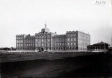 Вид здания Стахеевского Епархиального училища