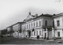 Вид здания женской гимназии
