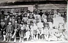 Бригада колхоза деревни Большой Полом 1934 год
