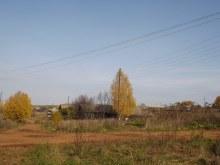 Дорога на д.Чурша (часть с. Ильинское). На север от церкви