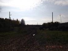 Дорога на бывшую д. Чепчаны. На юг от церкви