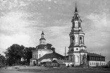 Церковь с. Среднеивкино, 1958г.