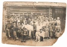 Жители деревни. 1936 год.