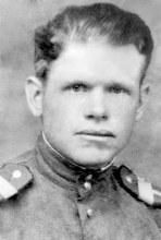 """Князев Михаил Степанович, 1921 г.р., старшина, механик водитель танка """"Т-34"""""""