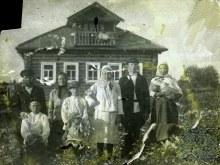 д. Малая Колчаевка 1930 год Семья Скобёлкиных