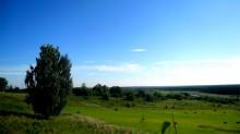 Вид на село от кладбища