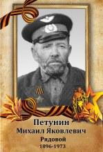 Петунин Михаил Яковлевич