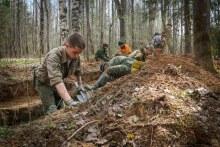 найден в ходе межрегиональной экспедиции «Ржев-2018», которая проходила с 20 апреля по 8 мая в Ржевском районе Тверской области