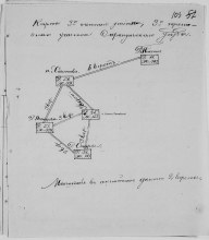 Карта 3го счетного участка, 3го переписного участка Сарапульского уезда