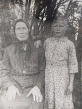 Жена Анастасия Васильевна , дочь Наденька (третья дочь , младшая из детей)